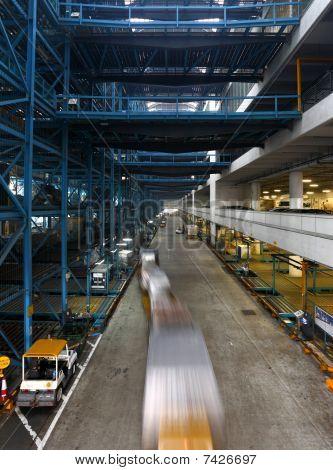 warehouse in Hong Kong
