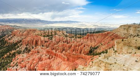 Hoodoos  And Scenic View