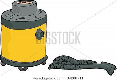 Yellow Wet-dry Vacuum