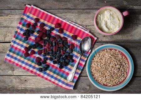 Preparing Healthy Breakfast