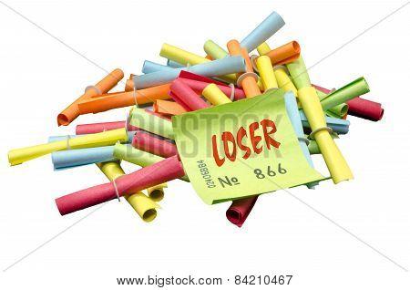 Winning tickets, lottery tickets, loser