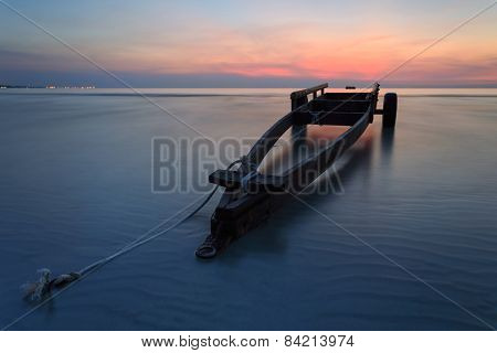 The Boat Trailer At Kon Ao Beach , Rayong, Thailand