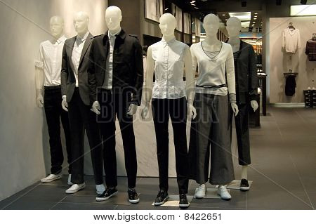Mannequins In A Shop