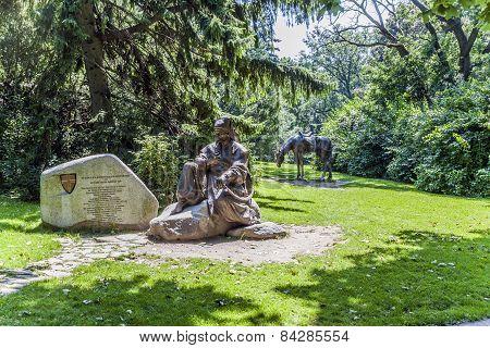 Cossack Memorial In Tuerkenschanzpark