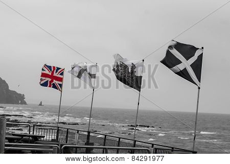 Flags Beach