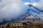 Refuge in Chimborazo volcano in the Andes, the highest mountain of Ecuador poster