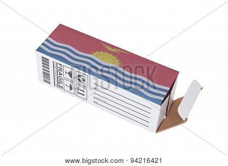 Concept Of Export - Product Of Kiribati