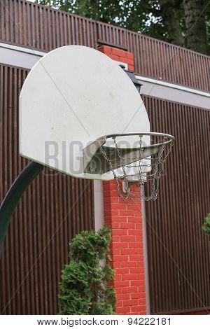 Basketball Backboard.