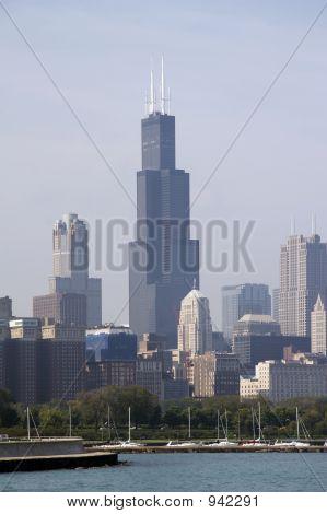Skyline Of Chicago Soc02