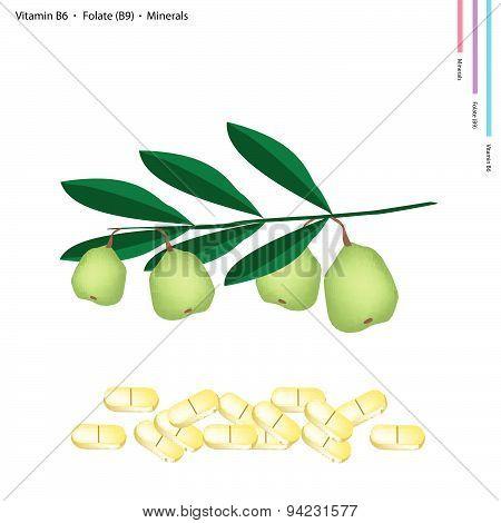 Walnuts With Vitamin B6, Folate And Minerals