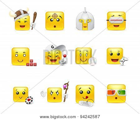 Emoticons That Play