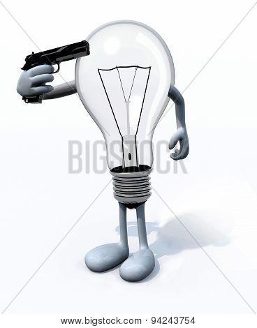 Light Bulb Kill Itself