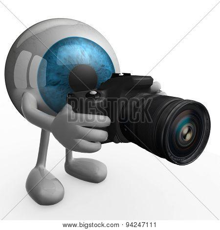 Big Blue Eye Photographer
