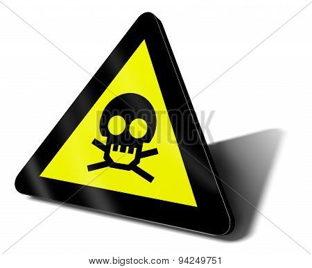 Warning Sign Danger Death