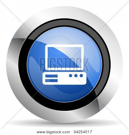 computer icon pc sign original modern design for web and mobile app on white background