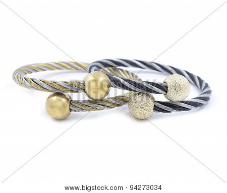 Beautiful ladies bracelets, stainless steel