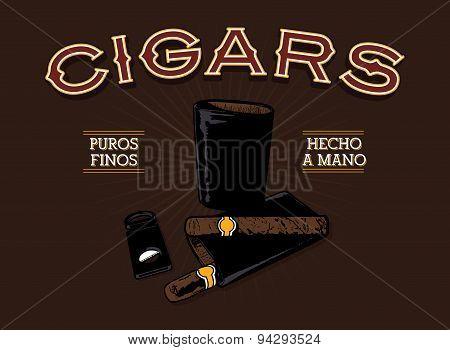 Retro Cigar Ad