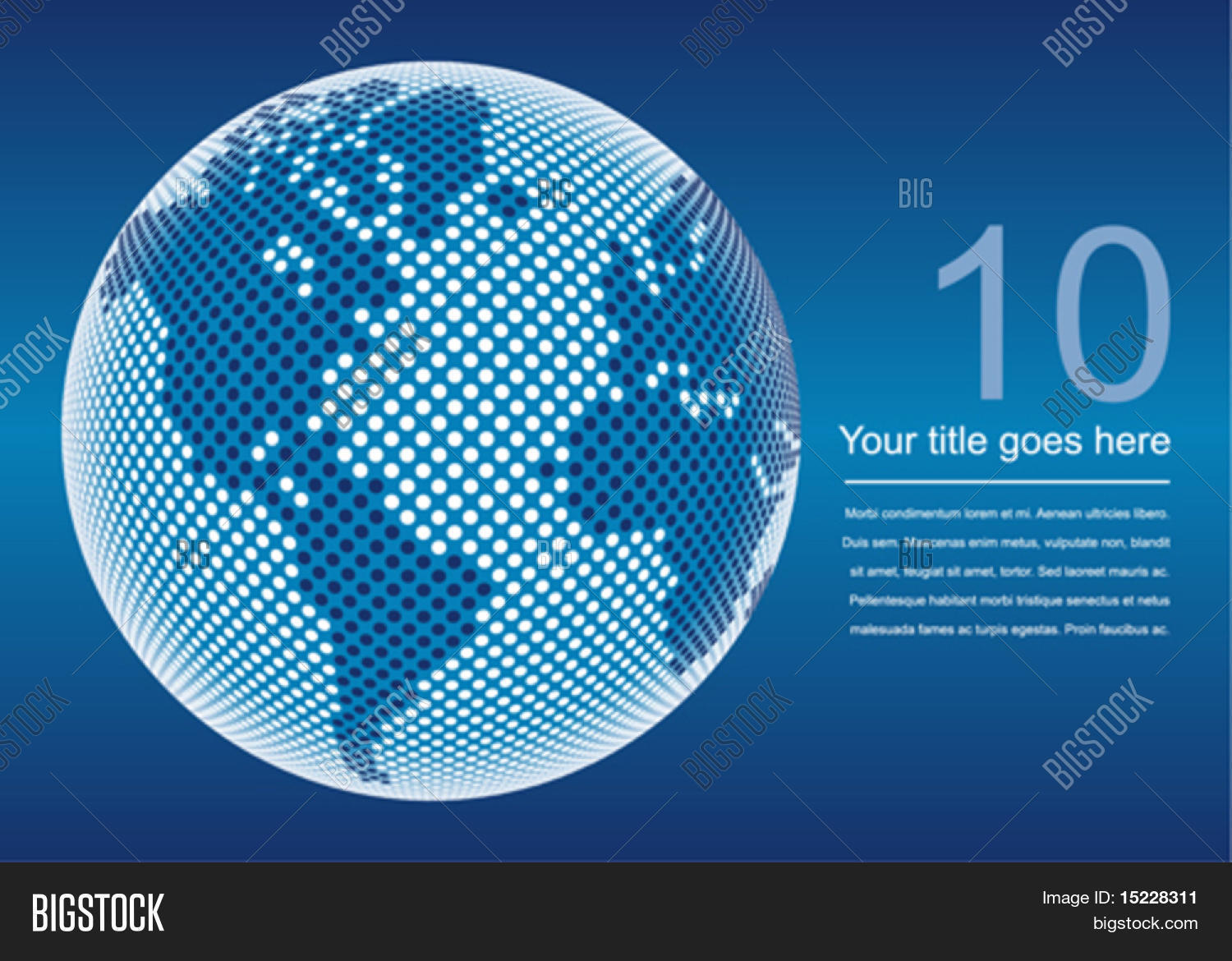 Digital world map vector photo free trial bigstock digital world map with copy space vector gumiabroncs Images