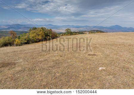 Amazing Panorama of Cherna Gora mountain, Pernik Region, Bulgaria