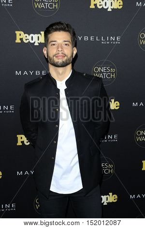 LOS ANGELES - OCT 13:  Rafael De La Fuente at the People's One To Watch Party at E.P. & L.P on October 13, 2016 in Los Angeles, CA