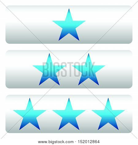 Star Rating W/ 3 Stars - Star Rating Panels