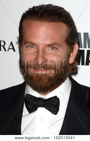 LOS ANGELES - OCT 14:  Bradley Cooper at the 2016 American Cinematheque Awards at Beverly Hilton Hotel on October 14, 2016 in Beverly Hills, CA