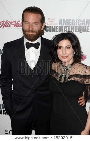 LOS ANGELES - OCT 14:  Bradley Cooper, Sue Kroll at the 2016 American Cinematheque Awards at Beverly Hilton Hotel on October 14, 2016 in Beverly Hills, CA