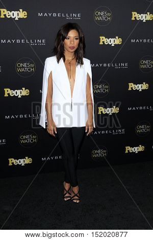 LOS ANGELES - OCT 13:  Angel Parker at the People's One To Watch Party at E.P. & L.P on October 13, 2016 in Los Angeles, CA