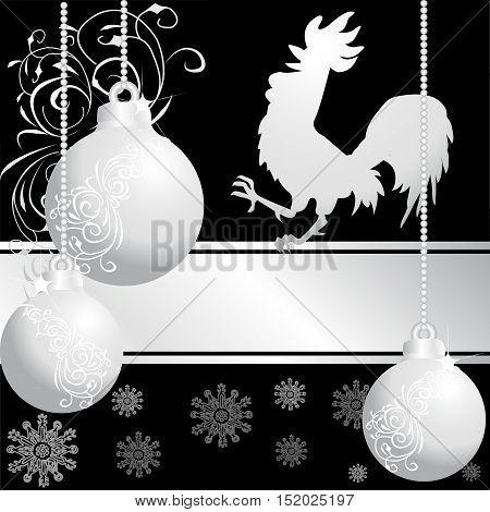 Three  Silver  Christmas Balls 4
