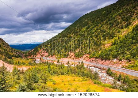 The highland road to Daocheng City, China