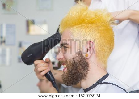 Funny Yellow Hair