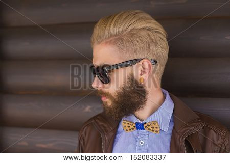 Stylish Blond Guy