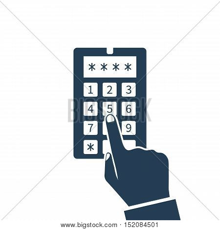 Security System Code, Icon