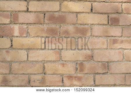 Rough brick wall background and cement weathered