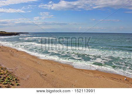 The Black Sea in Bulgaria - Sinemorets Beach