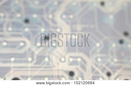 blur photo of keyboard plastic circuit sheet