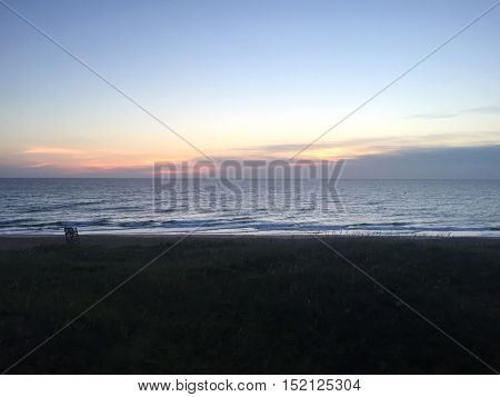 Beach Sunrise in the Outer Banks North Carolina