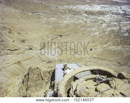 Negev Desert - View From Masada