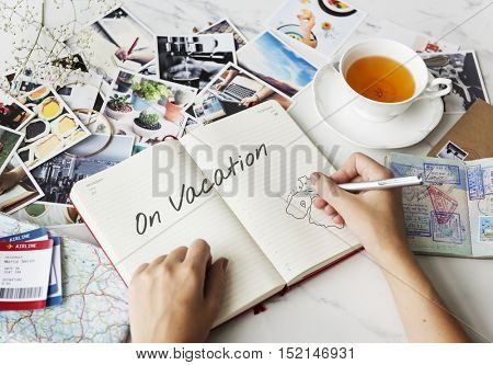 Enjoy Vacations Travel Trip Concept