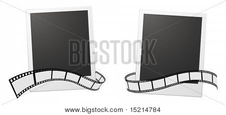 photo cards and film strip