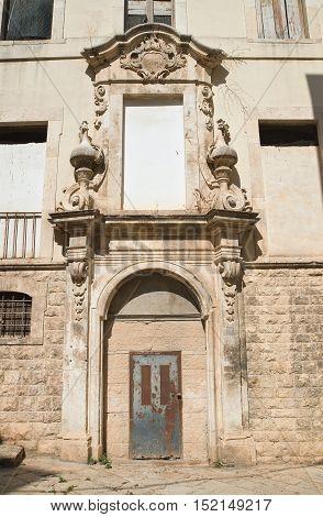 Ex dogana palace of Molfetta. Puglia. Italy.