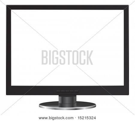 монитор компьютера - фронтальная