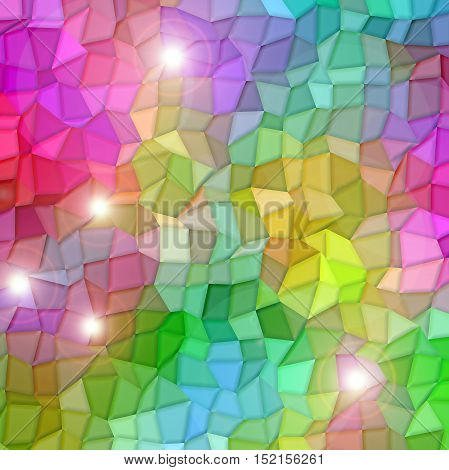 Abstract coloring background of the color harmonies gradient with visual mosaic and lighting effects,good for your project design