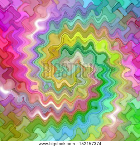 Abstract coloring background of the color harmonies gradient with visual mosaic,twirl and wave  effects
