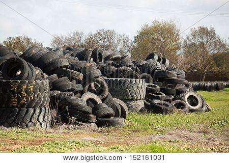 Tyre Dump, Cobram Victoria