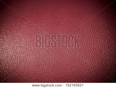 red pink leatherette Surface texture as background grung texture