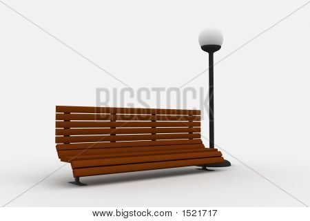Bench And Light