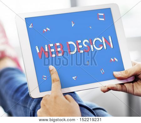 Domain Homepage Html Web Design Webinar SEO Concept