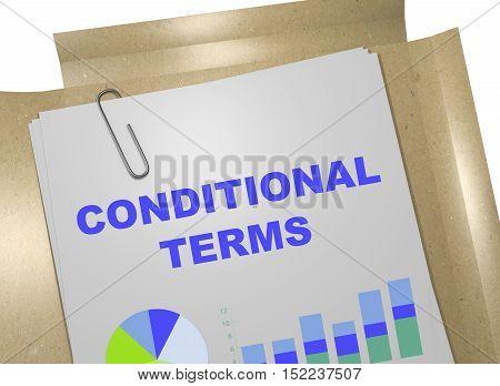 Conditional Terms Concept