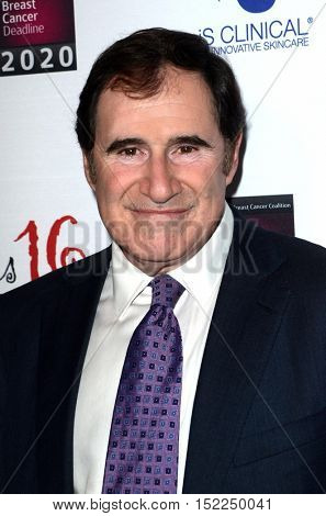 LOS ANGELES - OCT 16:  Richard Kind at the 16th Annual Les Girls Cabaret at the Avalon Hollywood on October 16, 2016 in Los Angeles, CA